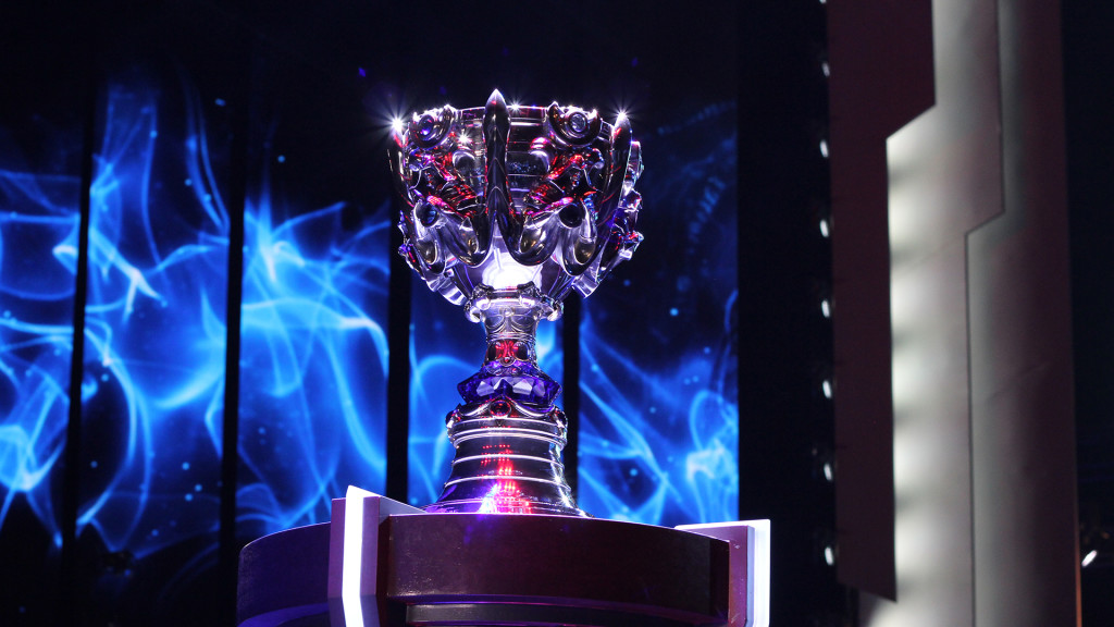 League Of Legends World Championship Finals Staples Center