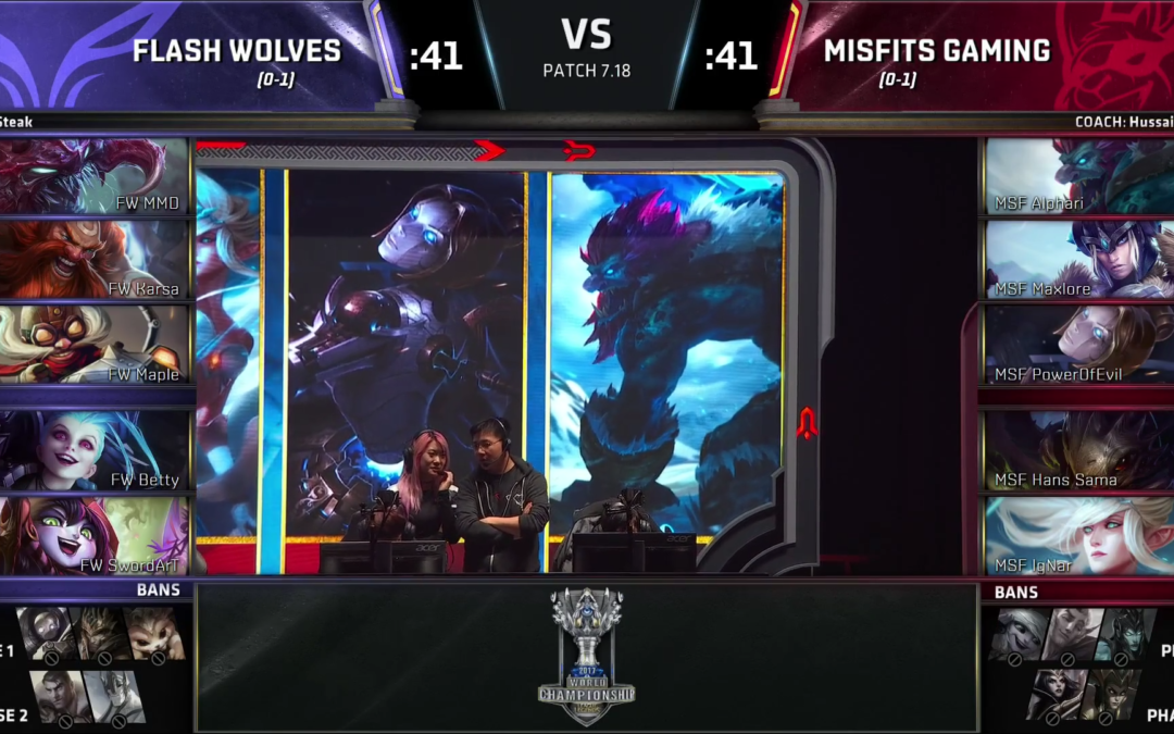 The 2017 Worlds Meta is taking Shape