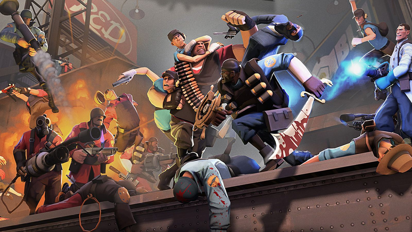 TF2 celebrates its 10th anniversary