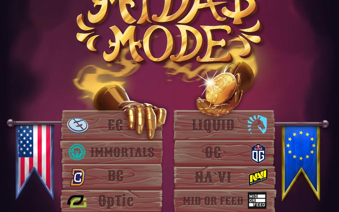 Dota 2's Midas Mode is the best Tournament Ever
