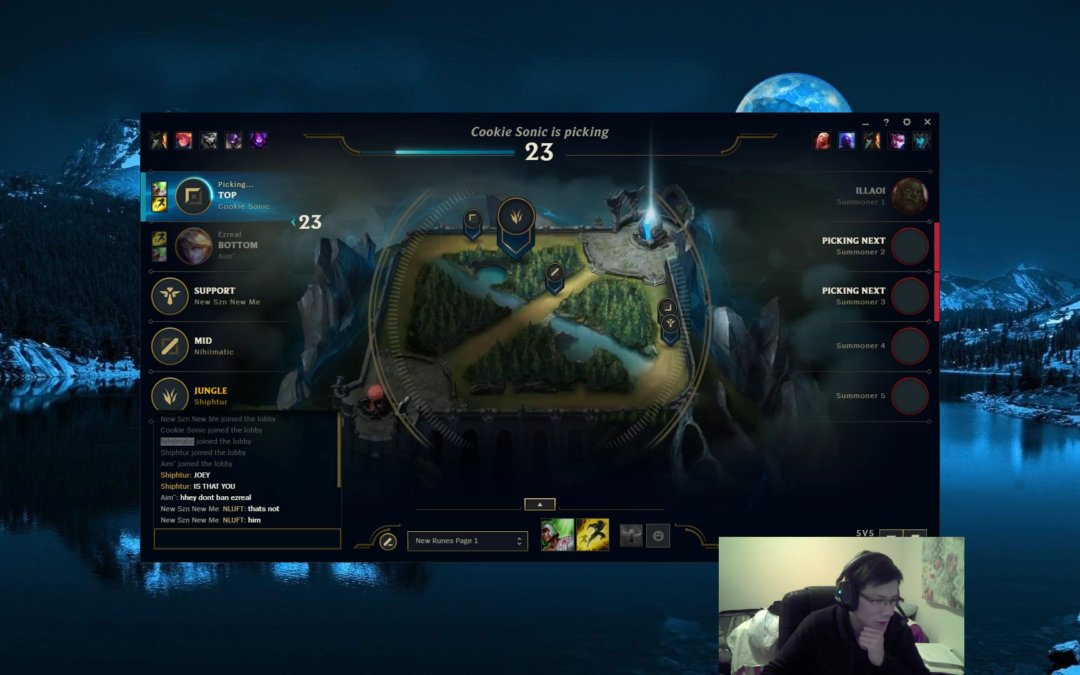 Popular League of Legends Streamers Hit By Hack