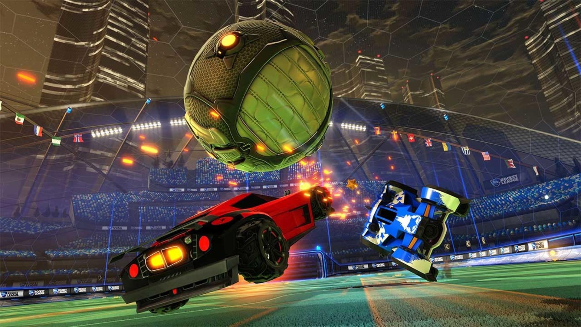 Rocket league team cross platform