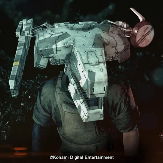 Metal Gear Survive REX Head