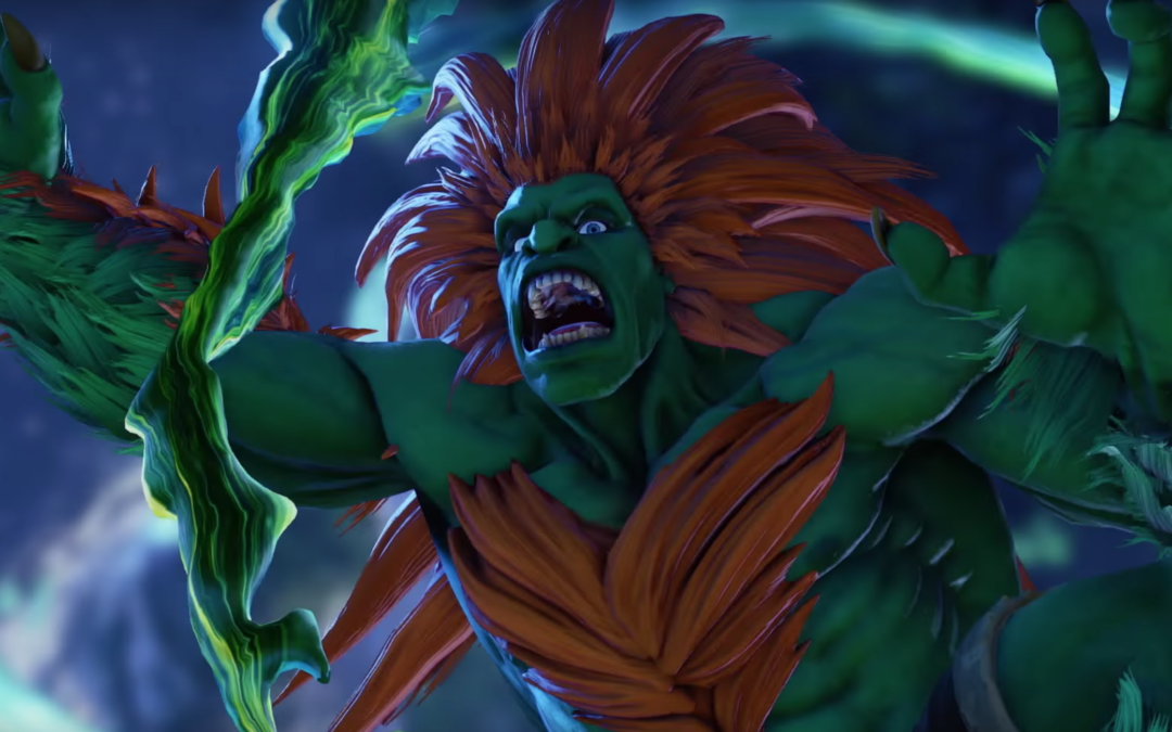 Blanka Returns to Street Fighter Series