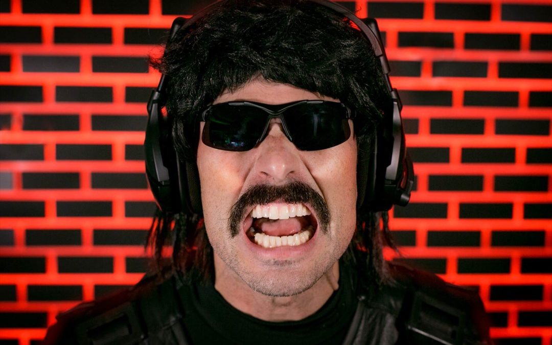 Dr. DisRespect Crashes Twitch With His Return to Streaming