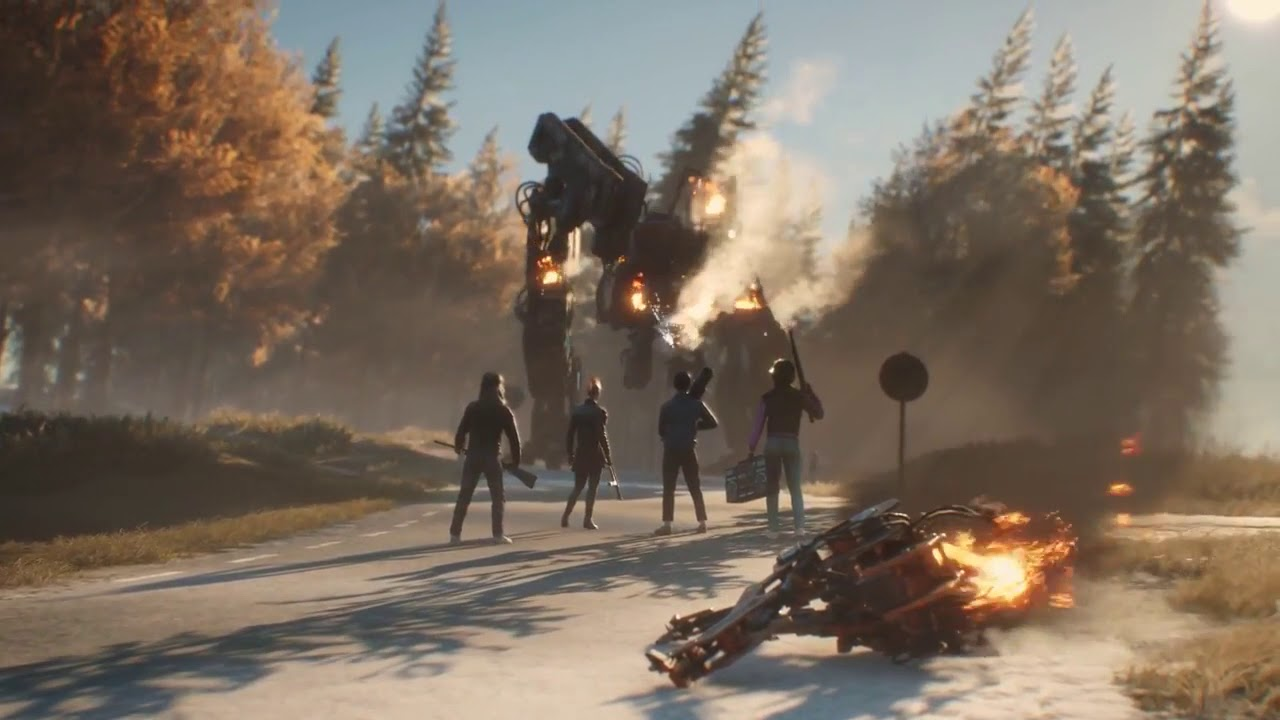 Generation Zero: The New 80s Robot Shooter from Avalanche Studios