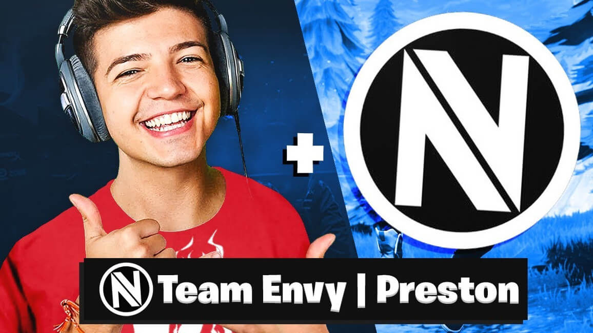 How Old Is Preston Fortnite Team Envy Partners With Tbnrfrags For Fortnite Content Ekgaming